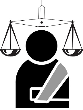 Symbol Law Broken Personal Lawyer Suit Arm