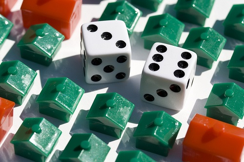 houses and dice