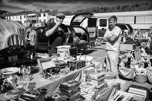 Flea Market Vendor