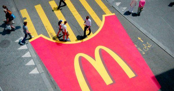 mcdonalds guerilla marketing campaign
